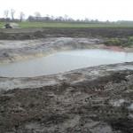 Paddenpoel uitgraven